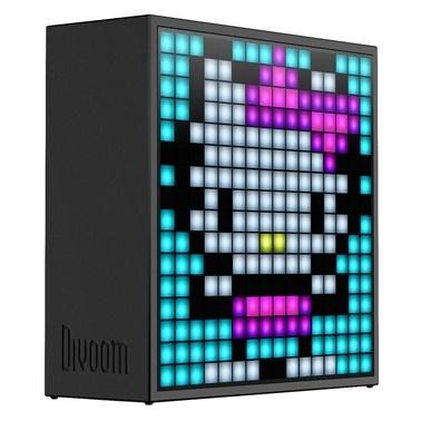 Divoom Divoom Timebox Evo Pixel Art Smart Siyah Bluetooth Hoparlör Siyah